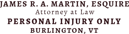 Personal Injury Vermont